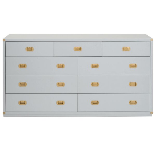 SkeltinCleveland 9 Drawer Media Dresser by Everly Quinn