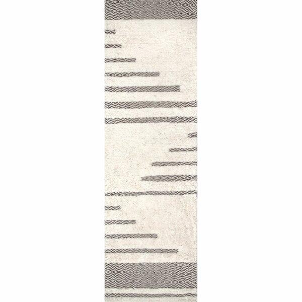 Ormside Cotton/Wool Ivory Area Rug by Orren Ellis