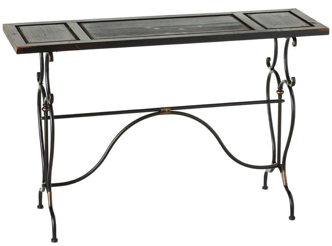 Kingsbury Scroll Base Console Table