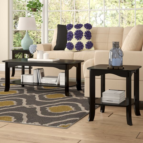 Lynnville 3 Piece Coffee Table Set by Andover Mills