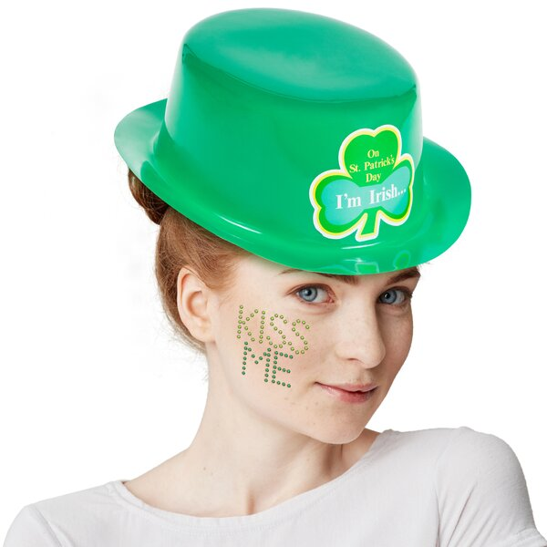 St. Patrick's Day Plastic Party Favors by The Holiday Aisle