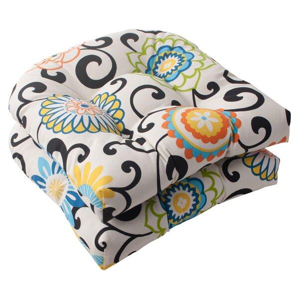 Indoor/Outdoor Seat Cushion (Set of 2) by Latitude Run