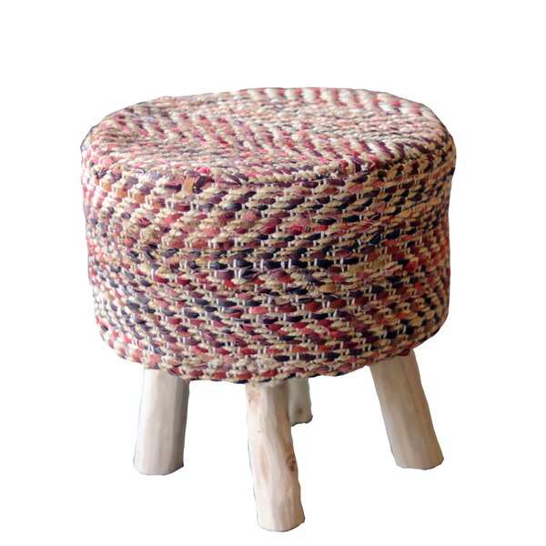 Lunada Accent Stool by Bloomsbury Market