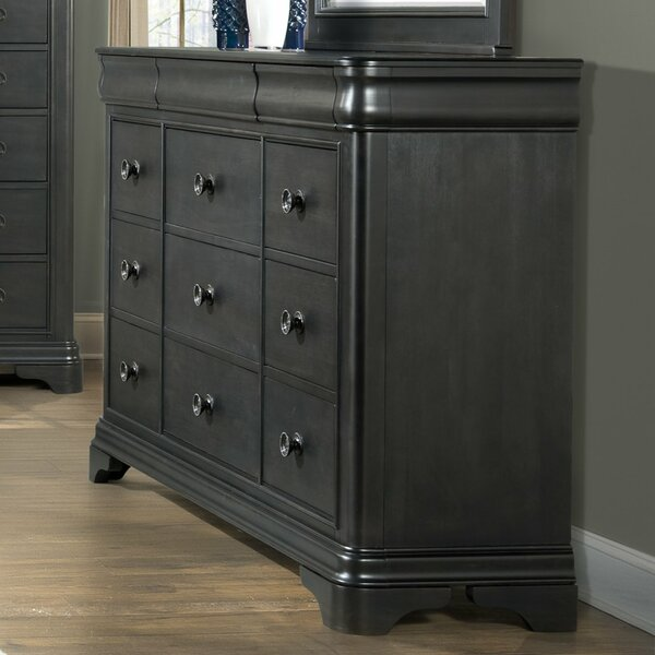 Segars 9 Drawer Dresser by Three Posts