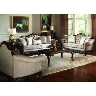 Bonaventure Park 3 Piece Coffee Table Set