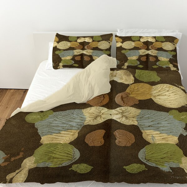 Rorschach Abstract Duvet Cover by Manual Woodworkers & Weavers