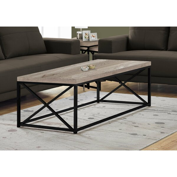 Gracie Oaks Wood Top Coffee Tables