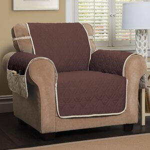 Five Star Box Cushion Armchair Slipcover by Innovative Textile Solutions