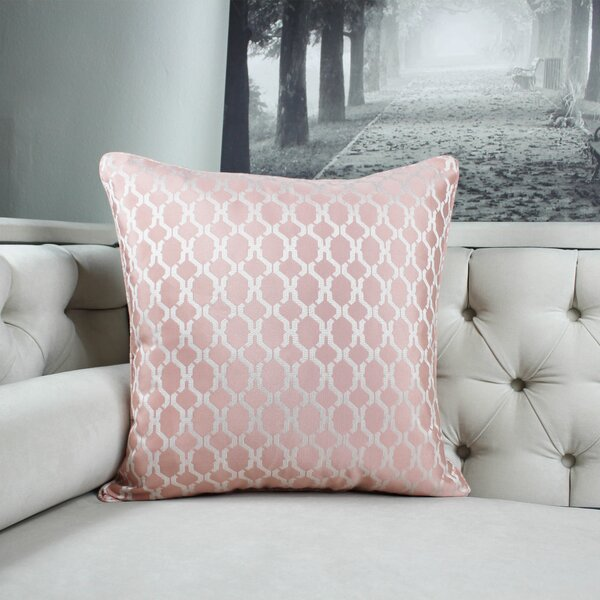 Loughton Cozy Jacquard Plaid Pillow Cover by Winston Porter