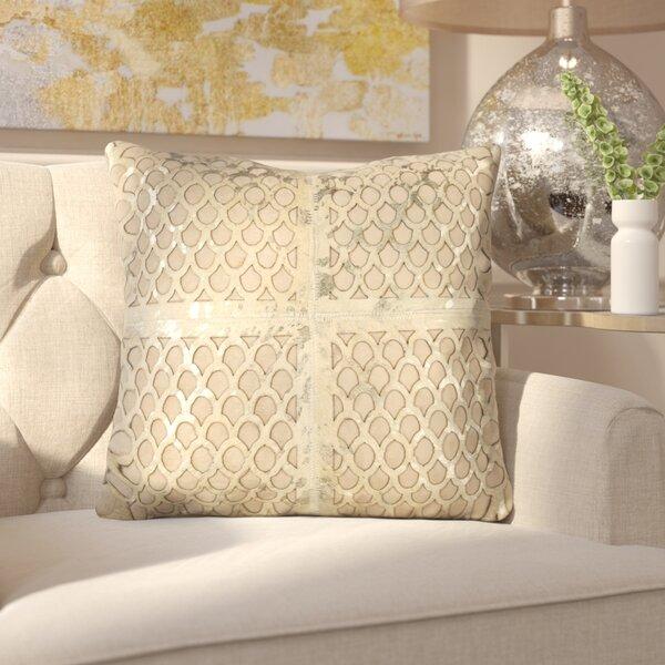 Matangi Metallic Fin Throw Pillow by Everly Quinn