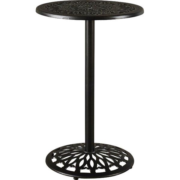 Fuller Metal Bar Table by Astoria Grand