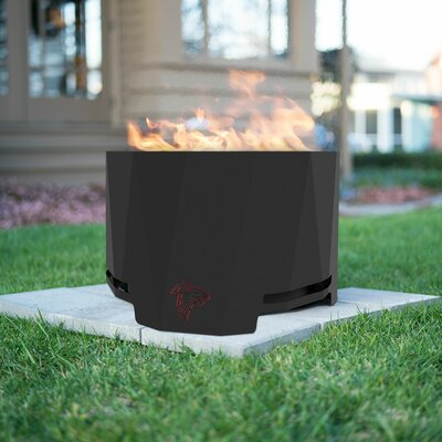 Blue Sky Outdoor Living NFL Peak Patio Steel Wood Burning Fire Pit  NFL Team: Atlanta Falcons