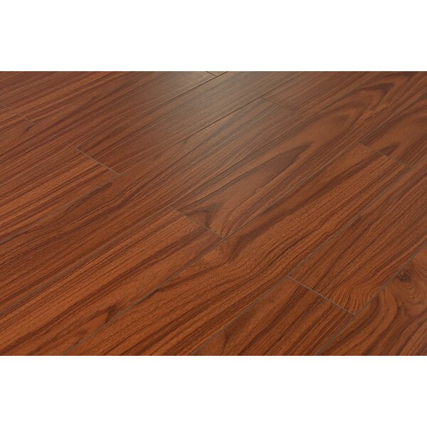 Killian 5 x 48 x 12mm Mahogany Laminate Flooring in Odessa by Serradon