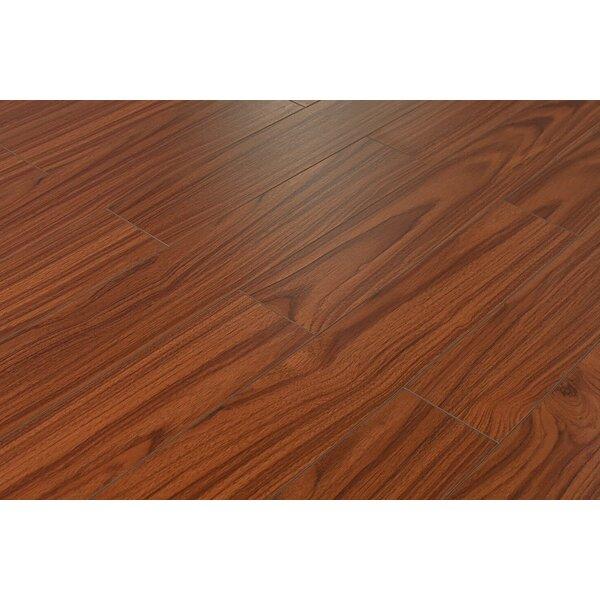 Killian 5 x 48 x 12mm Mahogany Laminate Flooring in Odessa by Serradon