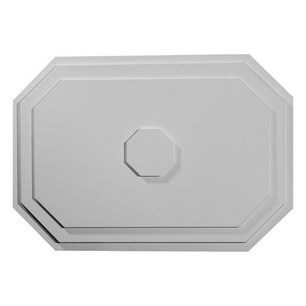 Felix 2/3H x 25 1/4W x 1 3/4D Ceiling Medallion by Ekena Millwork