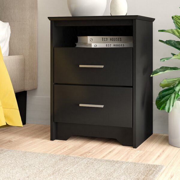 Oleanna Traditional 2 Drawer Nightstand by Zipcode Design