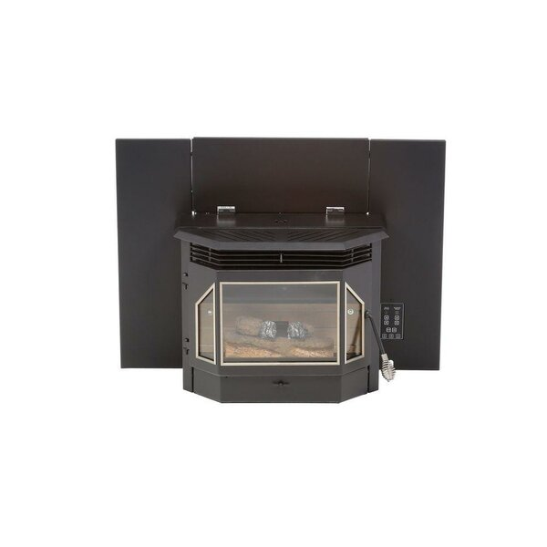 Evolution 2,000 sq. ft. Direct Vent Pellet Stove Insert by England's Stove Works
