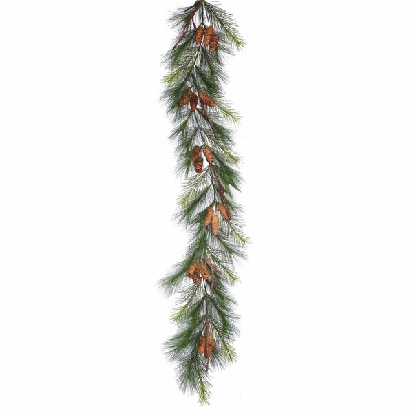Bavarian Pine Artificial Christmas Garland by Alcott Hill