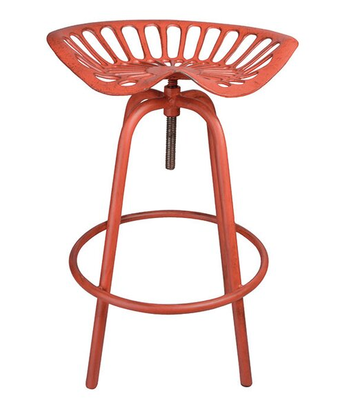 Adjustable Height Swivel Tractor Stool by NACH