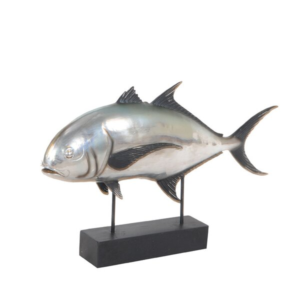 Theus Tuna Fish Figurine by Millwood Pines