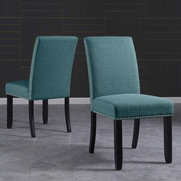 Rech Upholstered Dining Chair (Set of 2) by Charlton Home