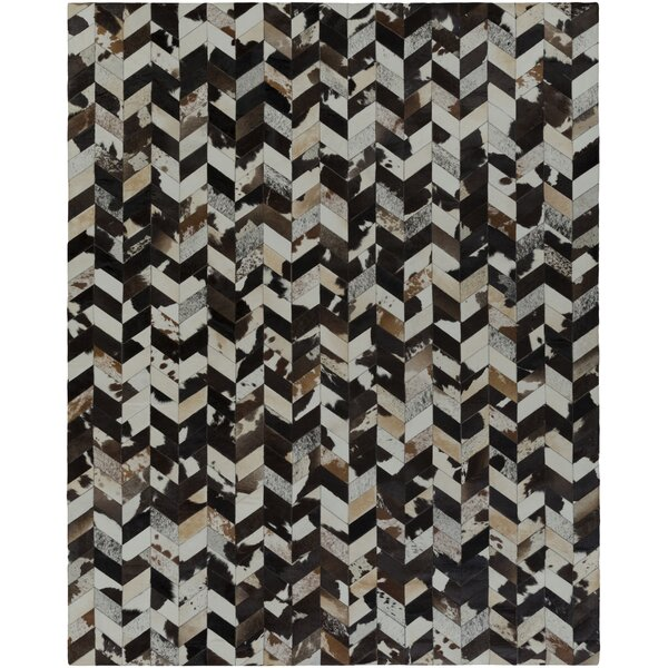 Horton Black/Gray Area Rug by Union Rustic
