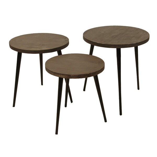 Spero 3 Piece Nesting Tables By Union Rustic