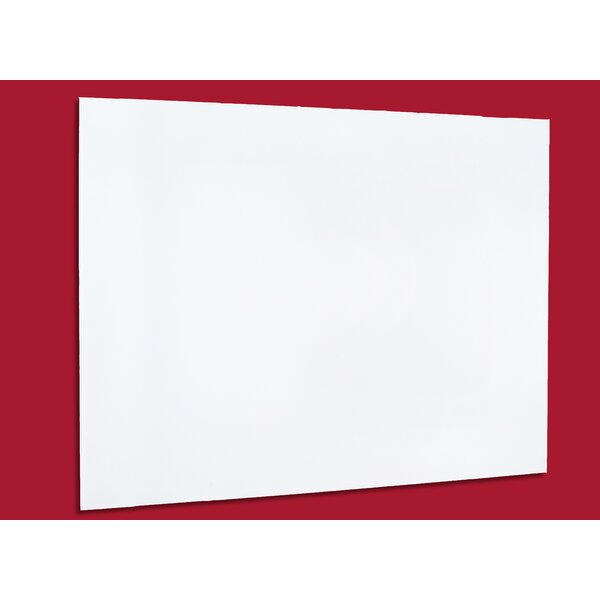 GlassWrite MAG Dry Erase Wall Mounted Glass Board by Egan Visual Inc.