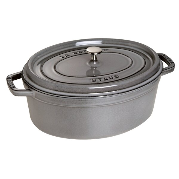 Cast Iron Oval Cocotte by Staub
