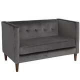 Diego 52 Square Arm Loveseat by Willa Arlo Interiors