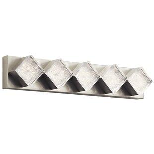 Best Price Loren 5-Light LED Bath Bar By House of Hampton