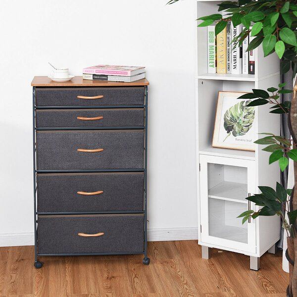 Miyashiro 5 Drawer Chest by Winston Porter