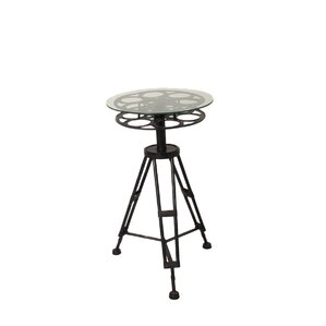 Urban Hollywood Film Reel End Table by EC World Imports