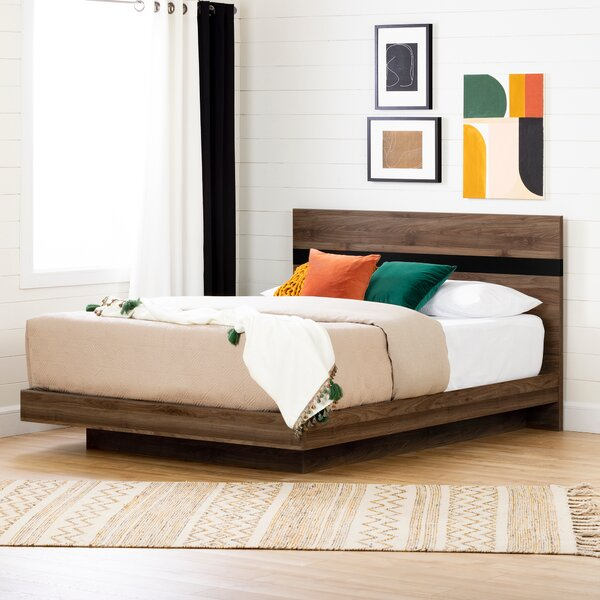 Flam Queen Platform Bed by South Shore
