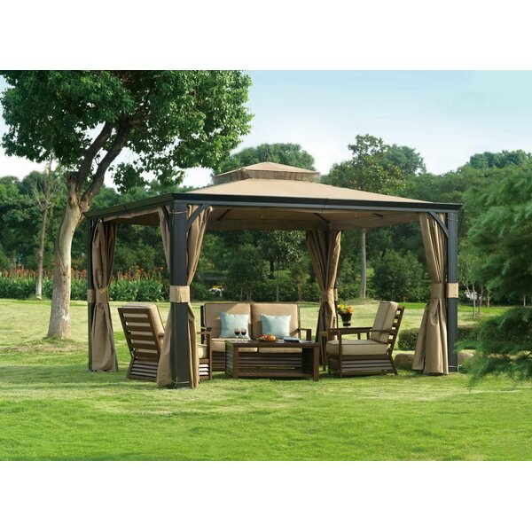 Replacement Canopy for Florence Gazebo by Sunjoy