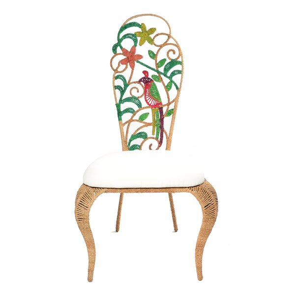 Lysette Slipper Chair by Bay Isle Home