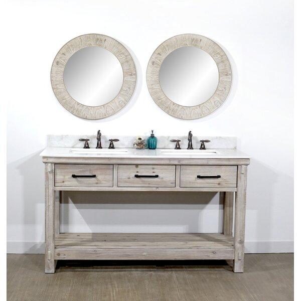 Everett 61 Double Bathroom Vanity Set