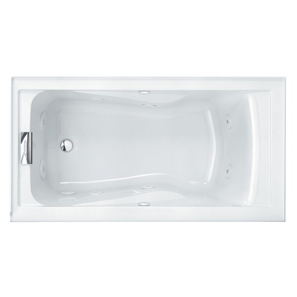 Evolution 60 x 32 Soaking Salon Spa with Integral Apron and Left Side Outlet by American Standard