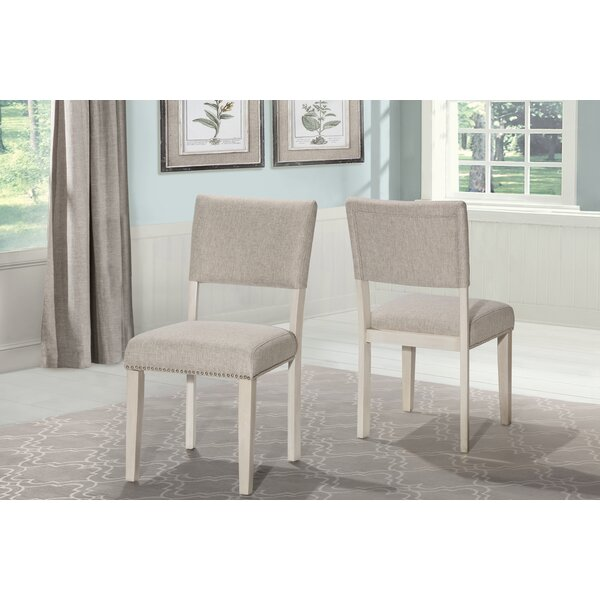 Jill Upholstered Dining Chair (Set of 2) by House of Hampton