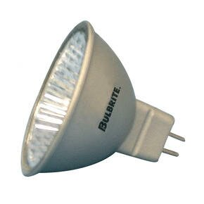 Bi-Pin Silver 12-Volt Halogen Light Bulb (Set of 6) by Bulbrite Industries