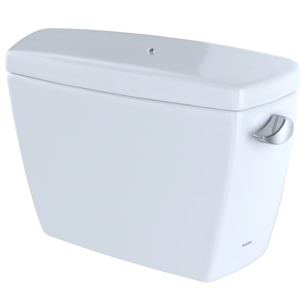 Eco Drake® E-Max® 1.28 GPF Dual Flush Toilet Tank with Bolt Down Lid by Toto