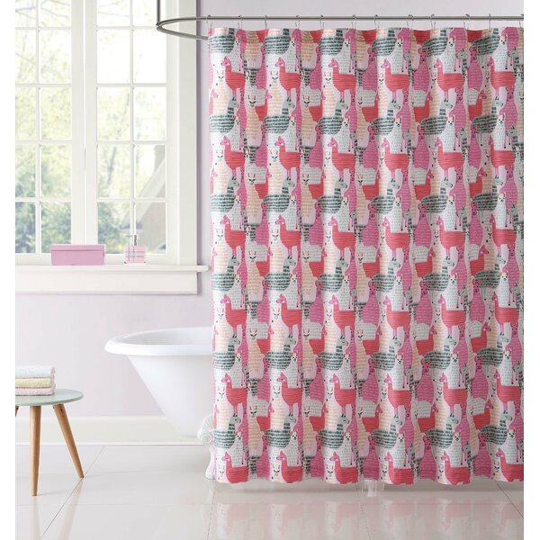 Janet Shower Curtain by Zoomie Kids