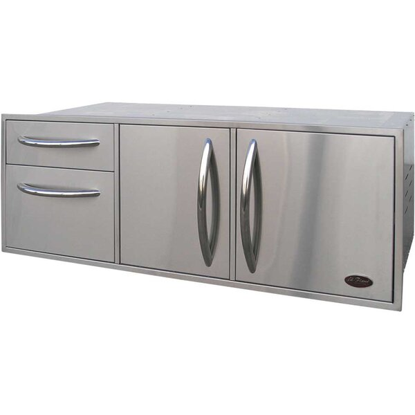 52.5 Built-In Complete Enclosed Cabinet by Cal Flame