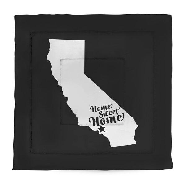Los Angeles Home Sweet Single Reversible Comforter