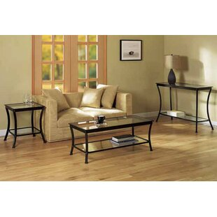 Waterford 3 Piece Coffee Table Set Charlton Home