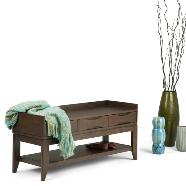 Hamblin Entryway Storage Bench by George Oliver George Oliver
