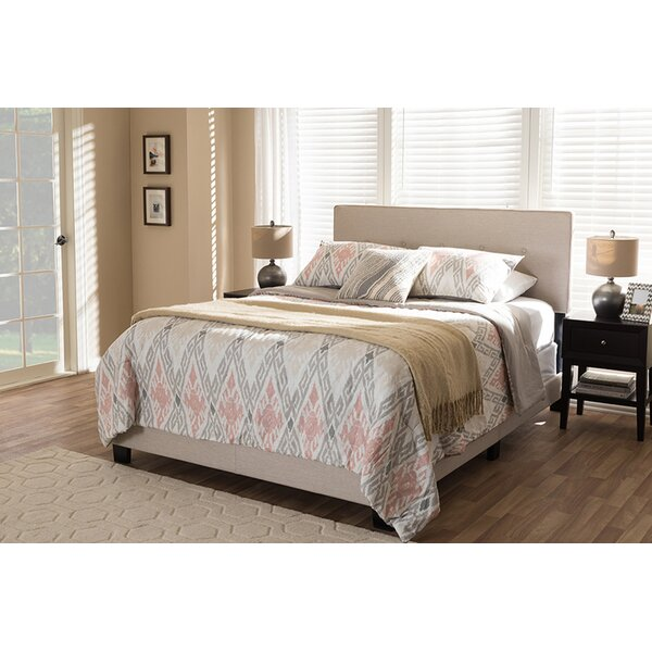 Lakendra Upholstered Standard Bed by Charlton Home
