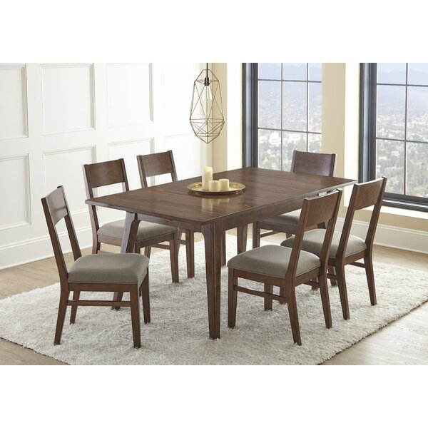Lehto 7 Piece Extendable Dining Set by Union Rustic