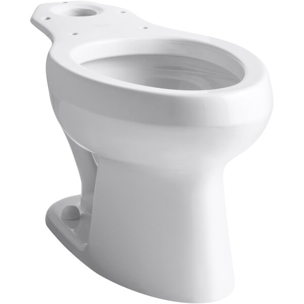 Wellworth® Toilet Bowl with Antimicrobial Finish, Less Seat by Kohler