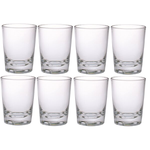 2 oz. Plastic Shot Glass (Set of 8) by Chenco Inc.